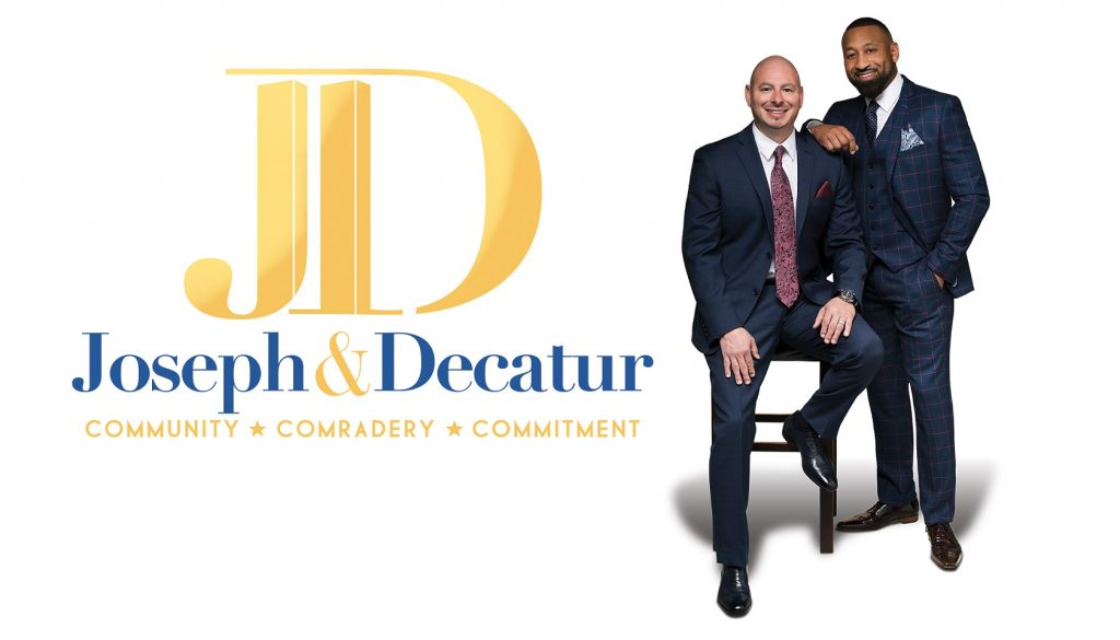 Joseph & Decatur Branding